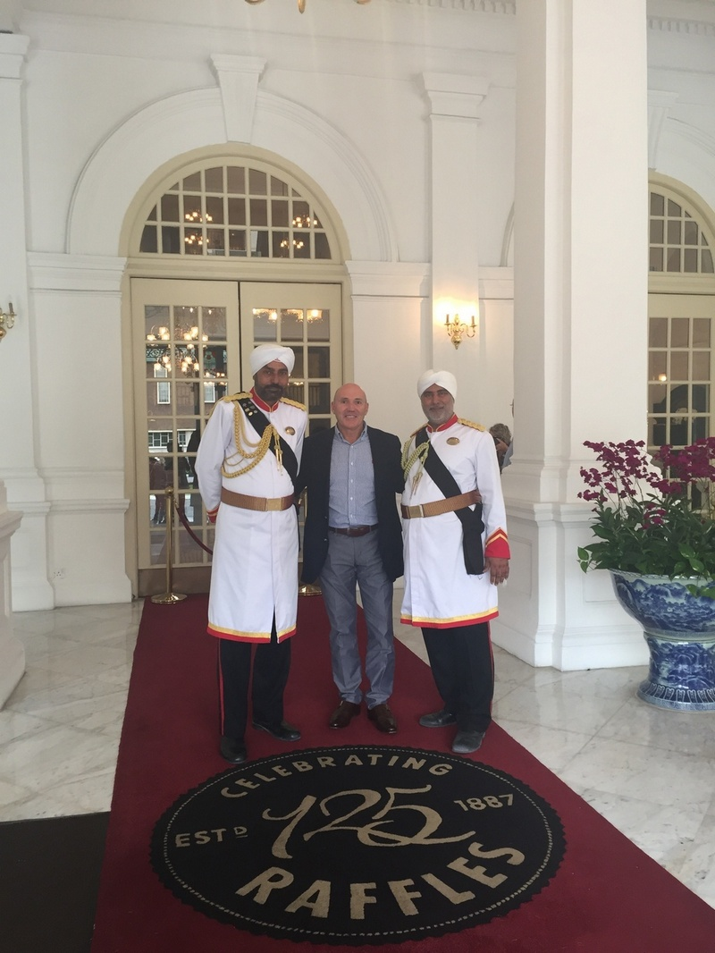 Seeing double at Raffles Singapore