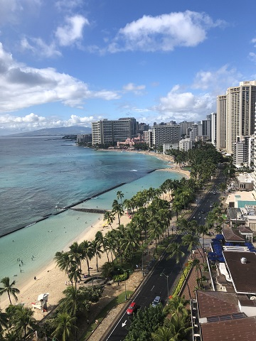 Leah's Norwegian Legends trip – Hawaii December 2019