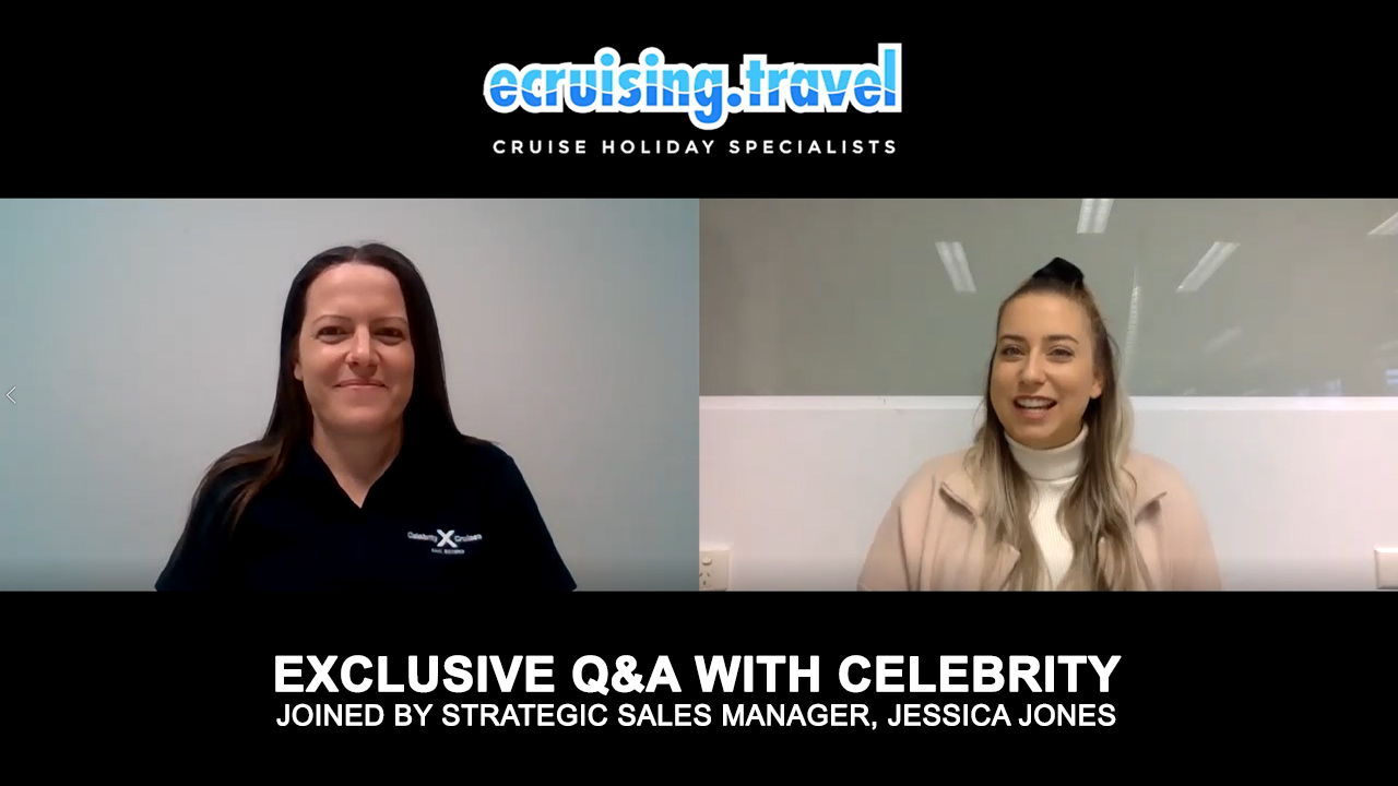 EXCLUSIVE Q&A - ecruising & Celebrity's Strategic Sales Manager, Jessica Jones!