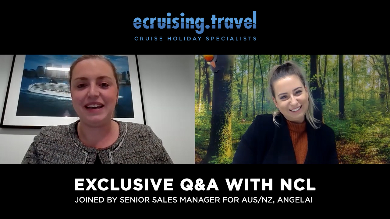 EXCLUSIVE Q&A with NCL & ecruising: Joined by Angela, Senior Sales Manager for Australia & NZ