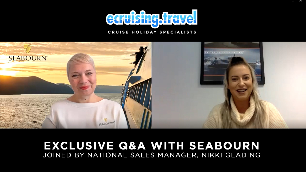 EXCLUSIVE Q&A - ecruising & Seabourn's National Sales Manager, Nikki Glading!