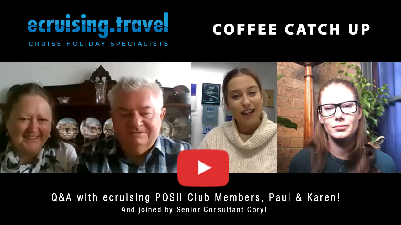 Coffee Catch Up: Train Journey Q&A with POSH Club Members, Paul & Karen & Team member Cory!