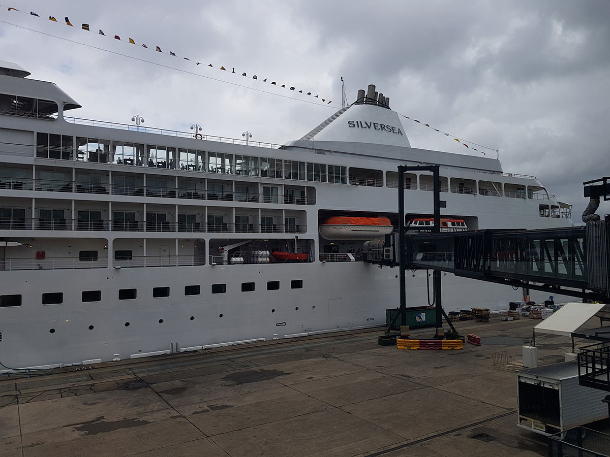 Cruise Ship Inspection On Board Silver Shadow Ecruising Travel - Silver shadow cruise ship itinerary