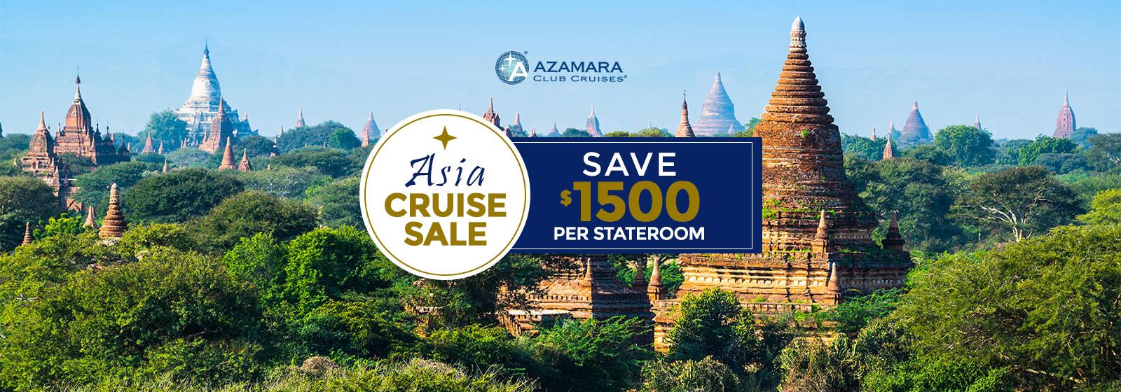 Azamara Asia Cruise Sale