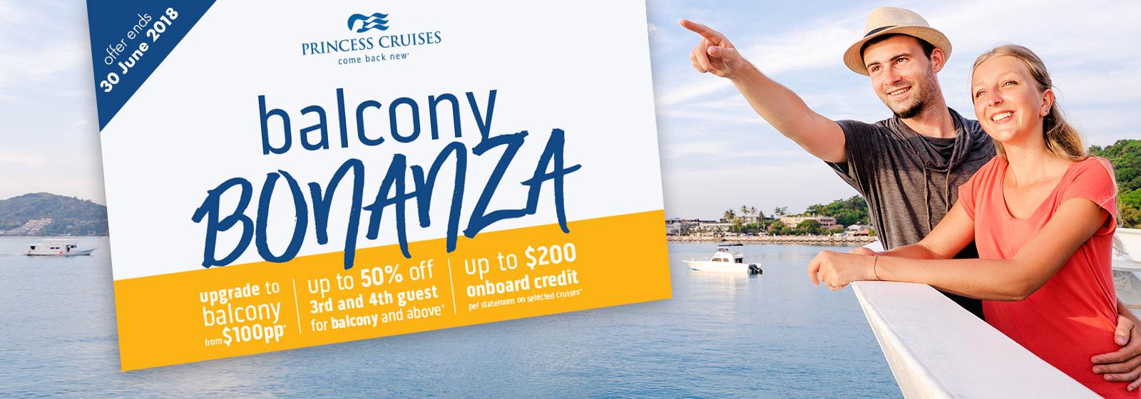 Princess Cruises | Balcony Bonanza