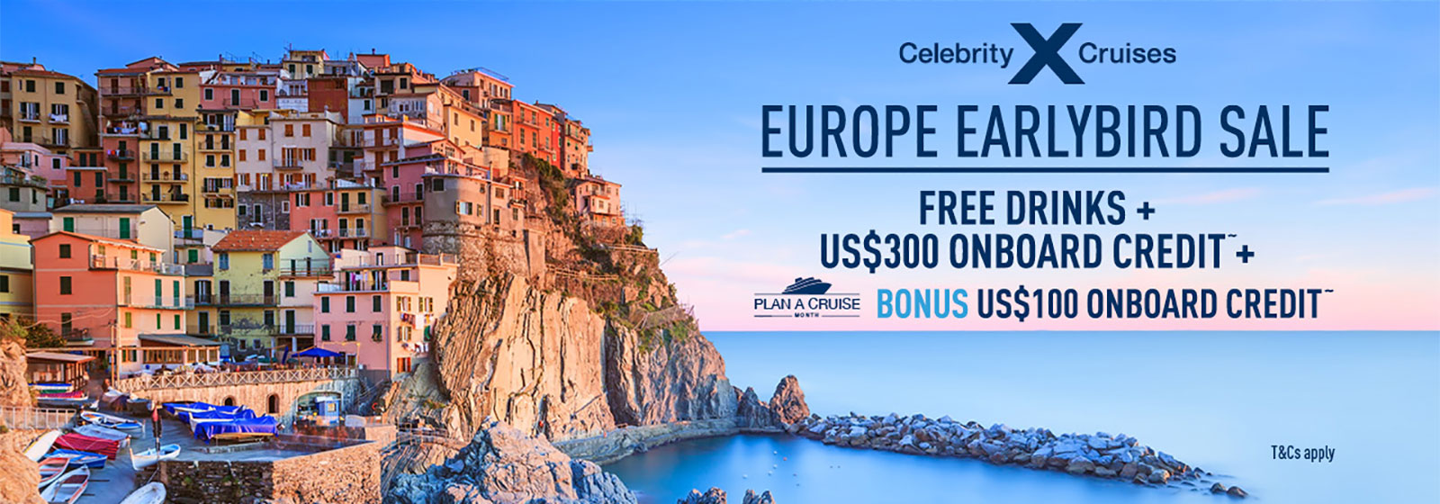 Celebrity Cruises Europe Earlybird Sale