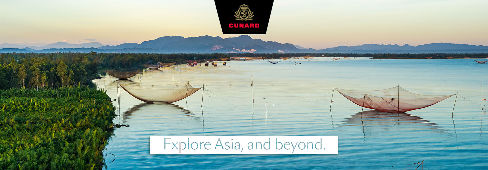 Cunard- Explore asia and beyond