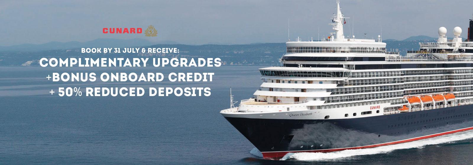 Cunard Cruise Sale Week