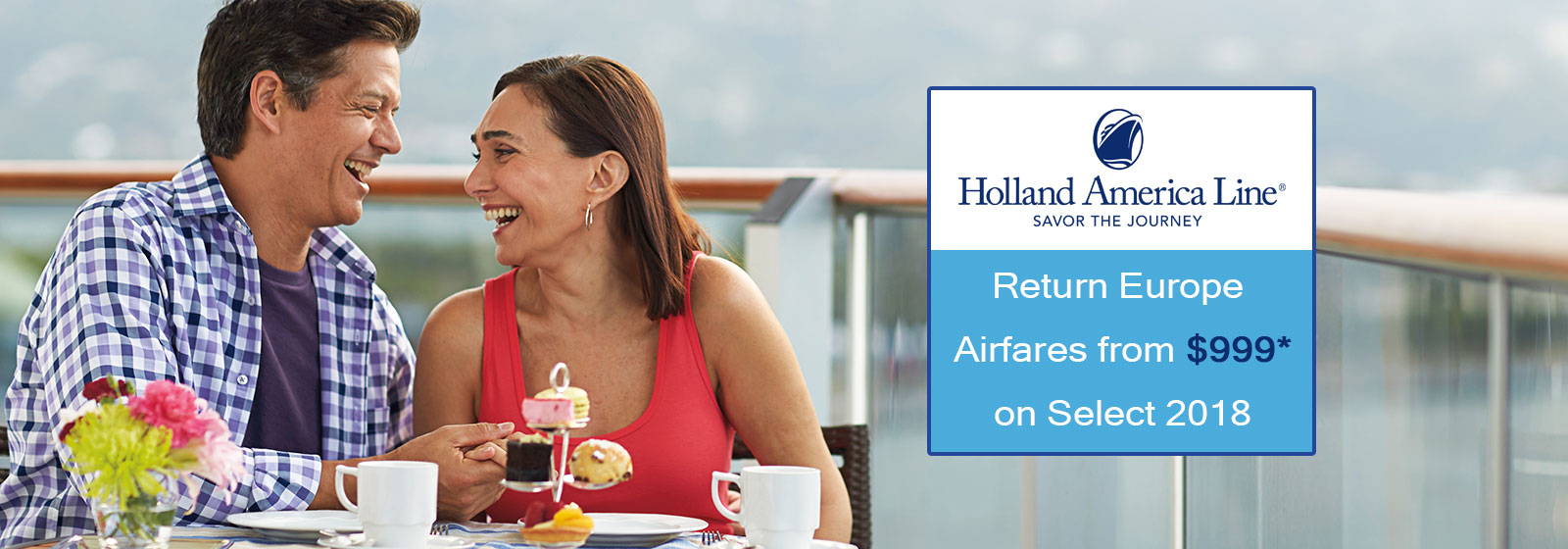 Holland America Europe Air Offer