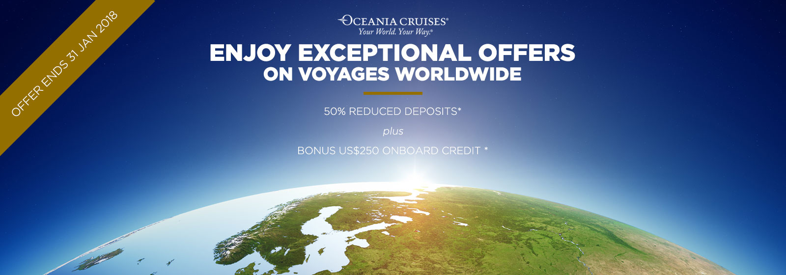 Oceania Wave Offer