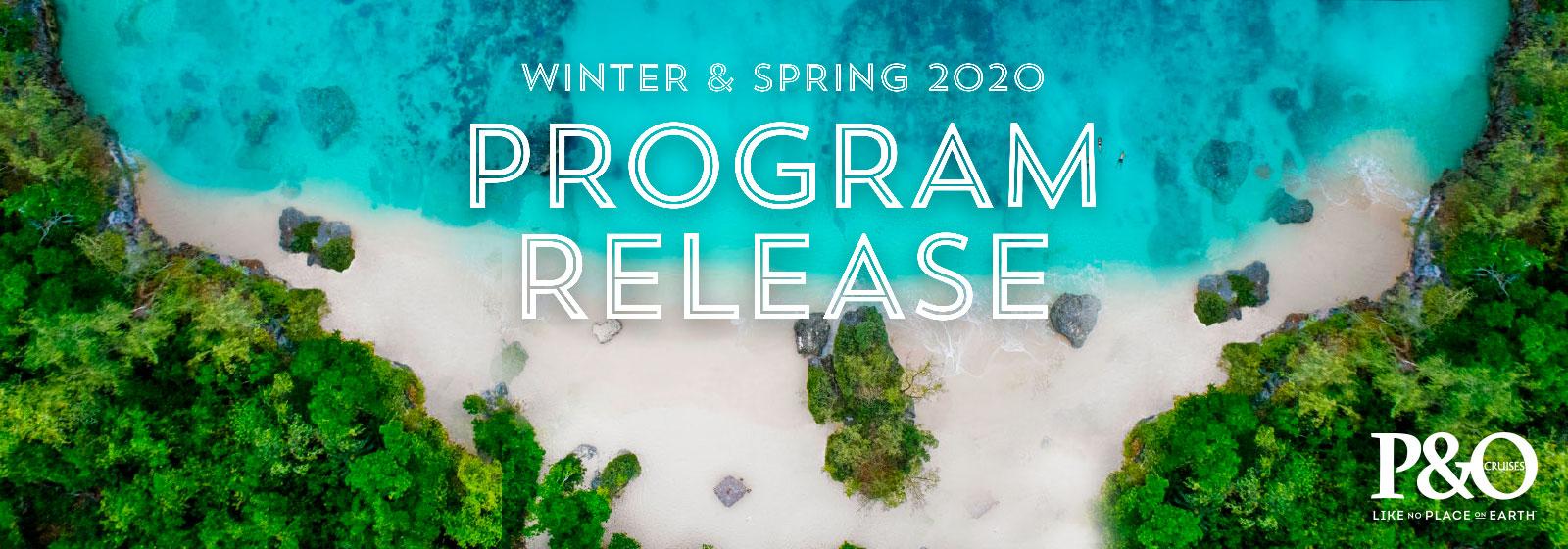 P&O Program Release