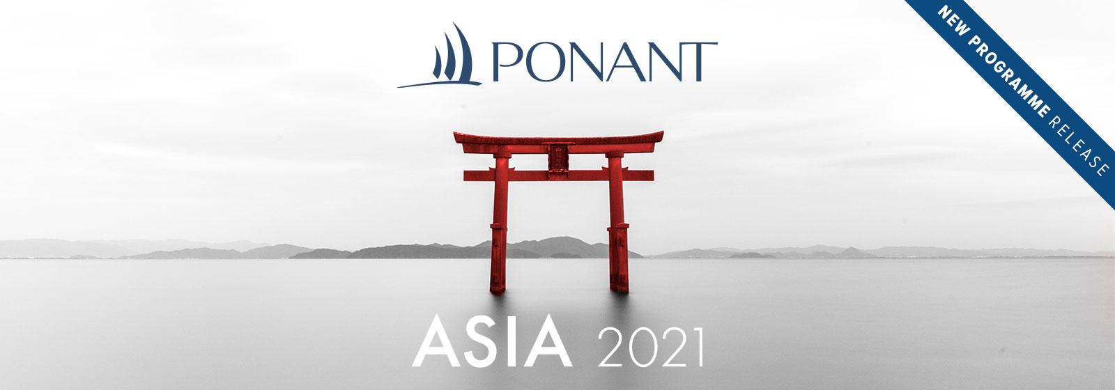 Ponant - Asia 2021