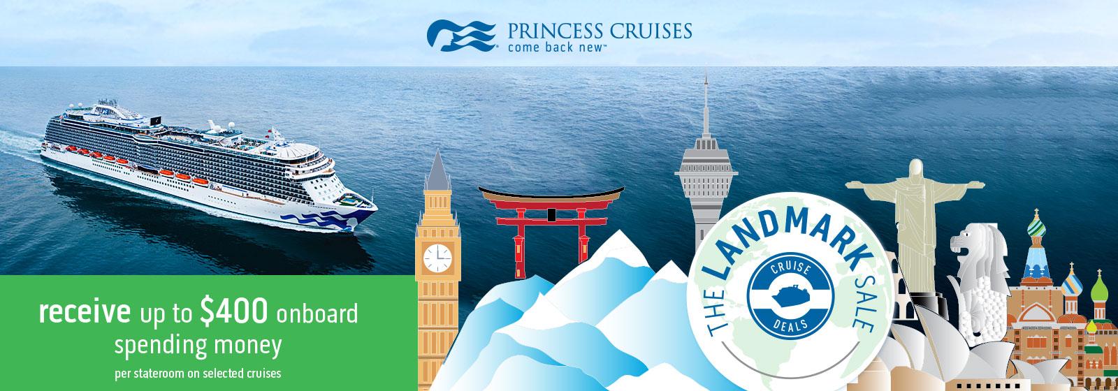 Princess Cruises Landmark Sale-new3