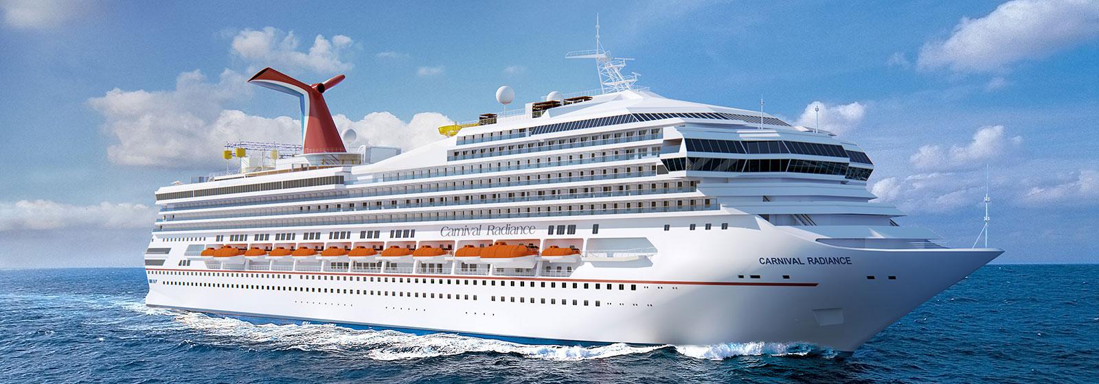 Radiance - Carnival Cruises