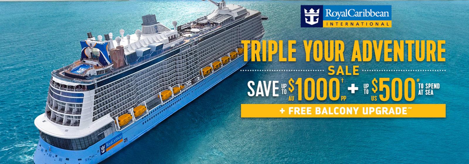 RCL - Triple Your Adventure Sale
