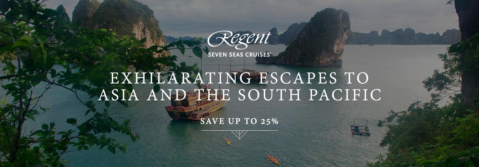 regent exhilarating escapes