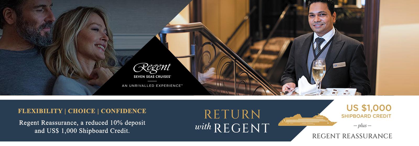 Regent Seven Seas - Return with Regent