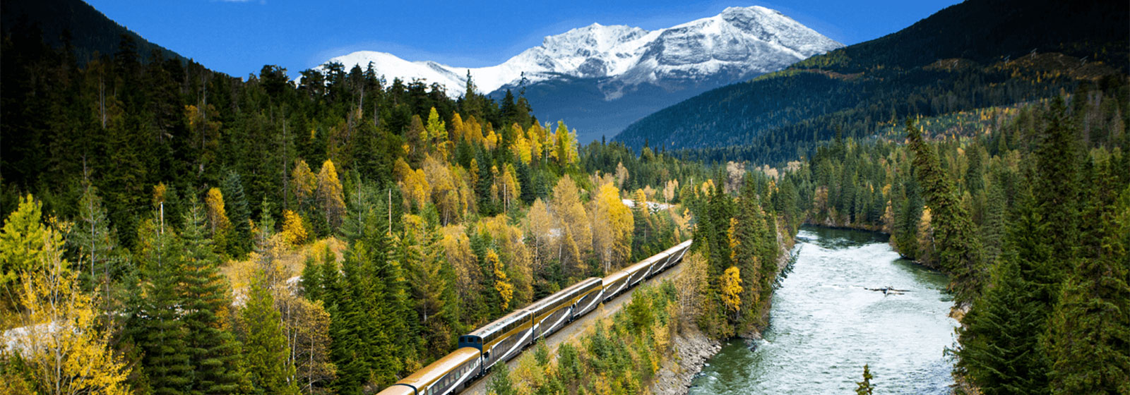 Rocky Mountaineer River View