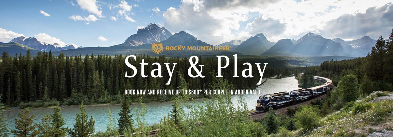 Rocky Mountaineer Stay & Play
