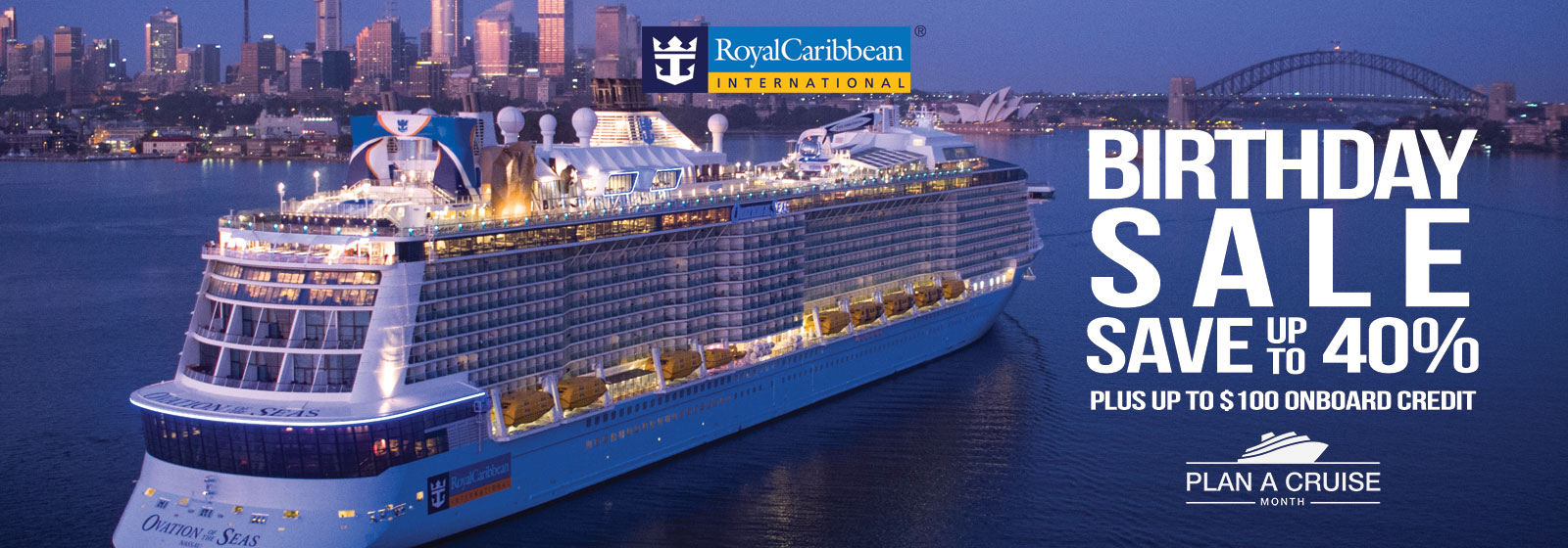 Royal Caribbean Birthday Sale