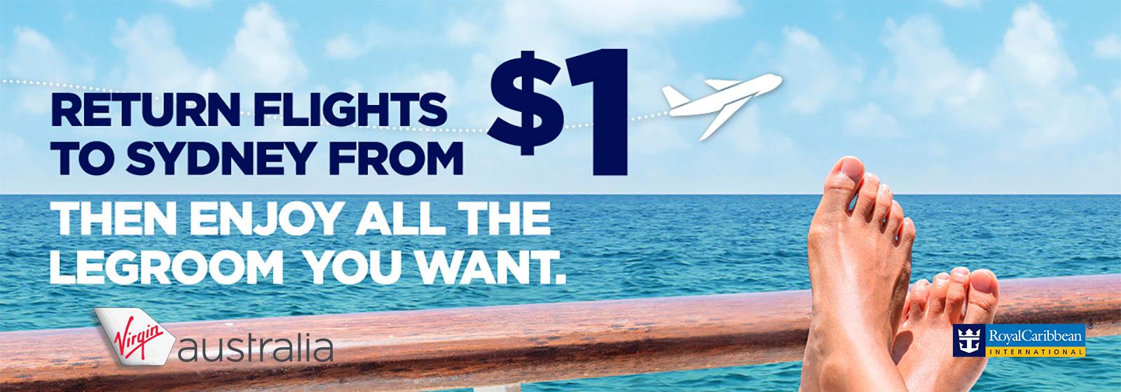Royal Caribbean Domestic Air Offer