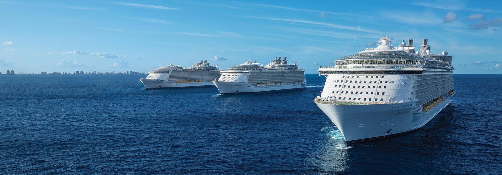 Royal Caribbean 3 Sisters