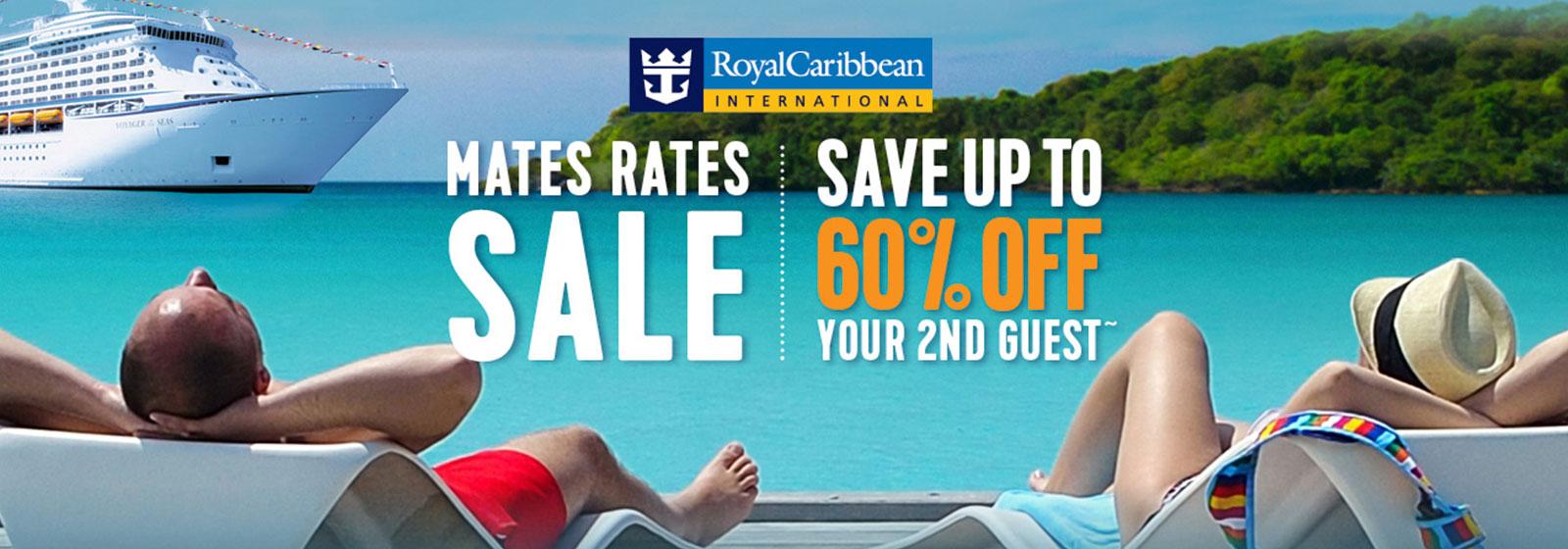 Royal Caribbean Mates Rates Sale