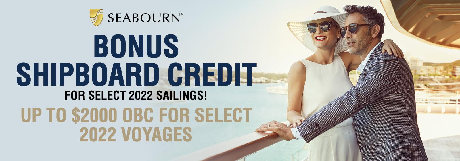 Seabourn Bonus OBC