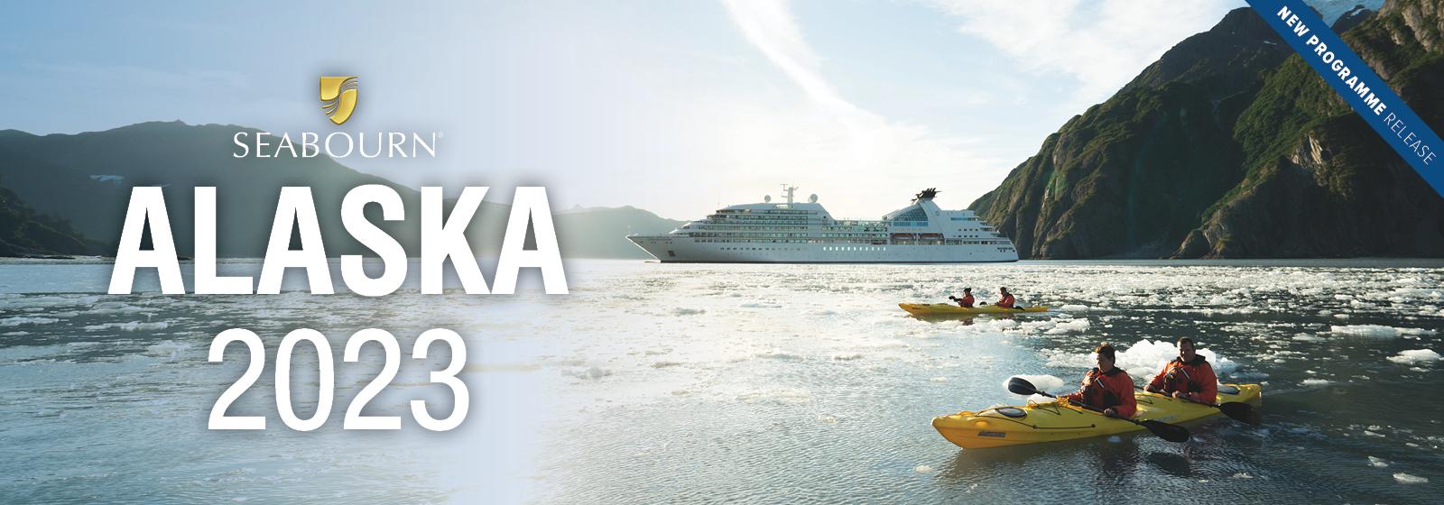 Seabourn - NEW Alaska 2023