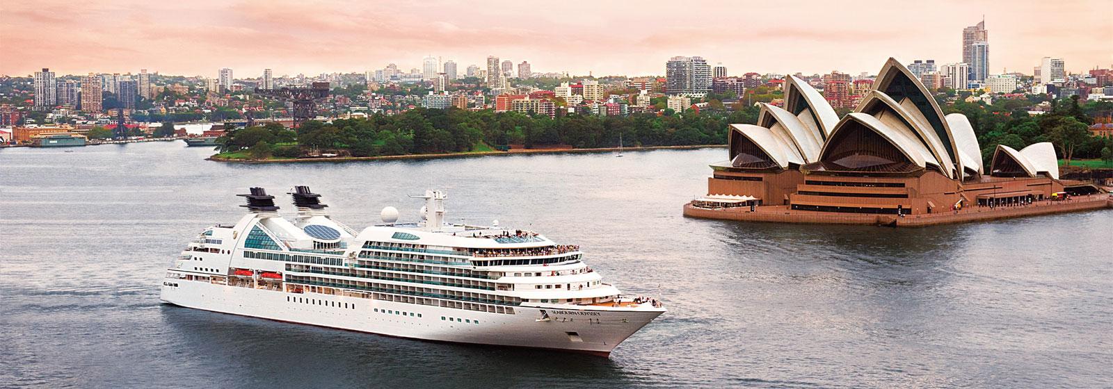 Seabourn Odyssey Sydney Harbour