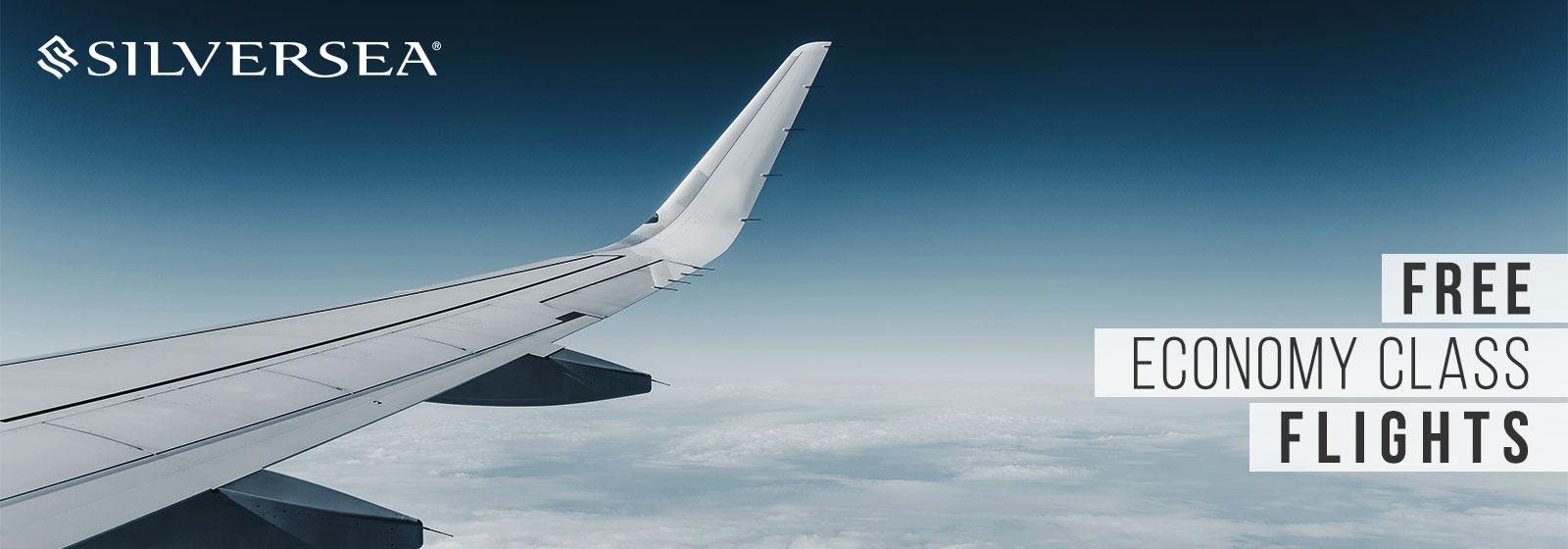 Silversea - Free Economy Class Flights
