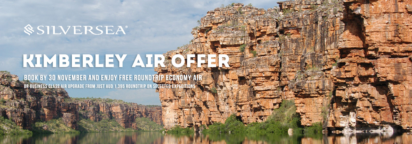 Silversea Kimberley Air Offer