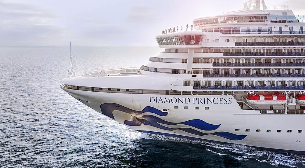 Close Up - Diamond Princess