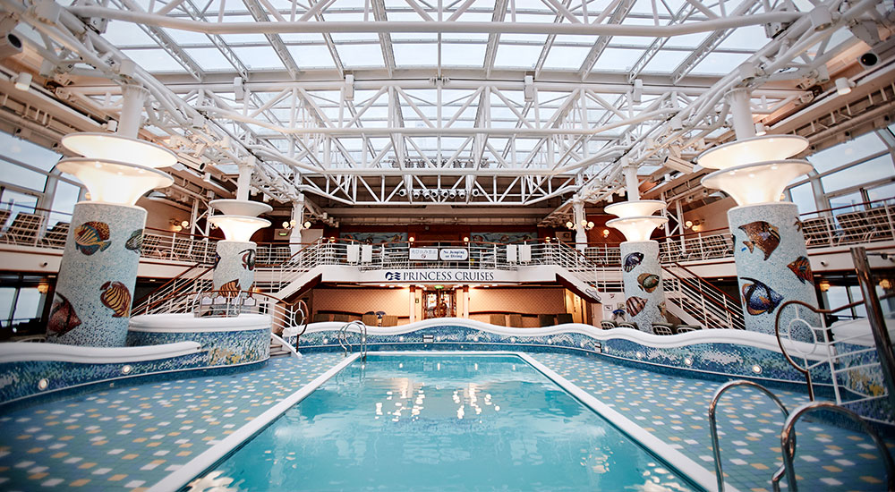 Inside Pool - Diamond Princess