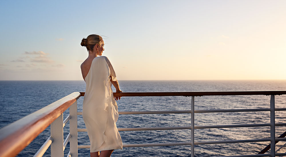 Relax at deck - Ruby Princess