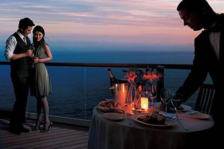Specialty Dining - Ultimate Balcony Dining