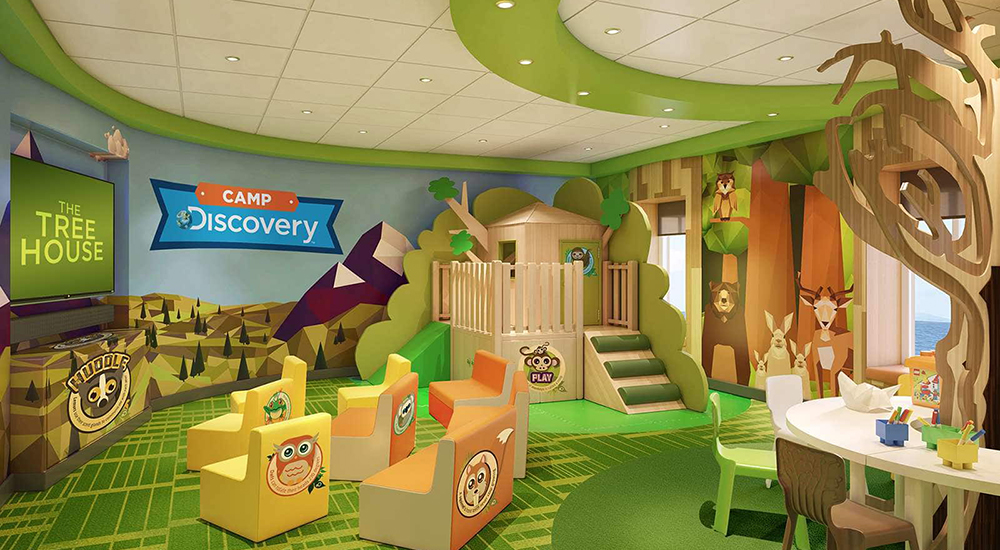 The Treehouse - Kids Area - Golden Princess