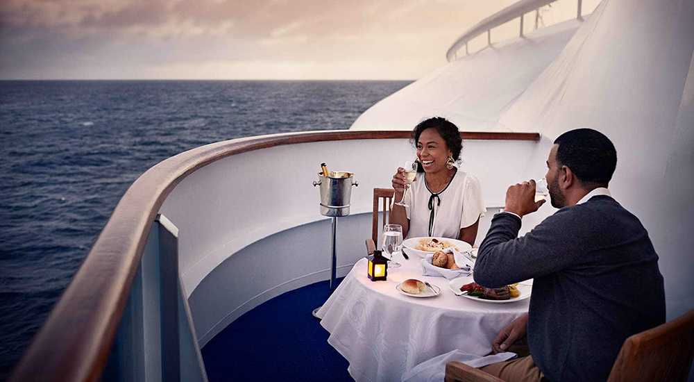 Ultimate Balcony Dining - Crown Princess