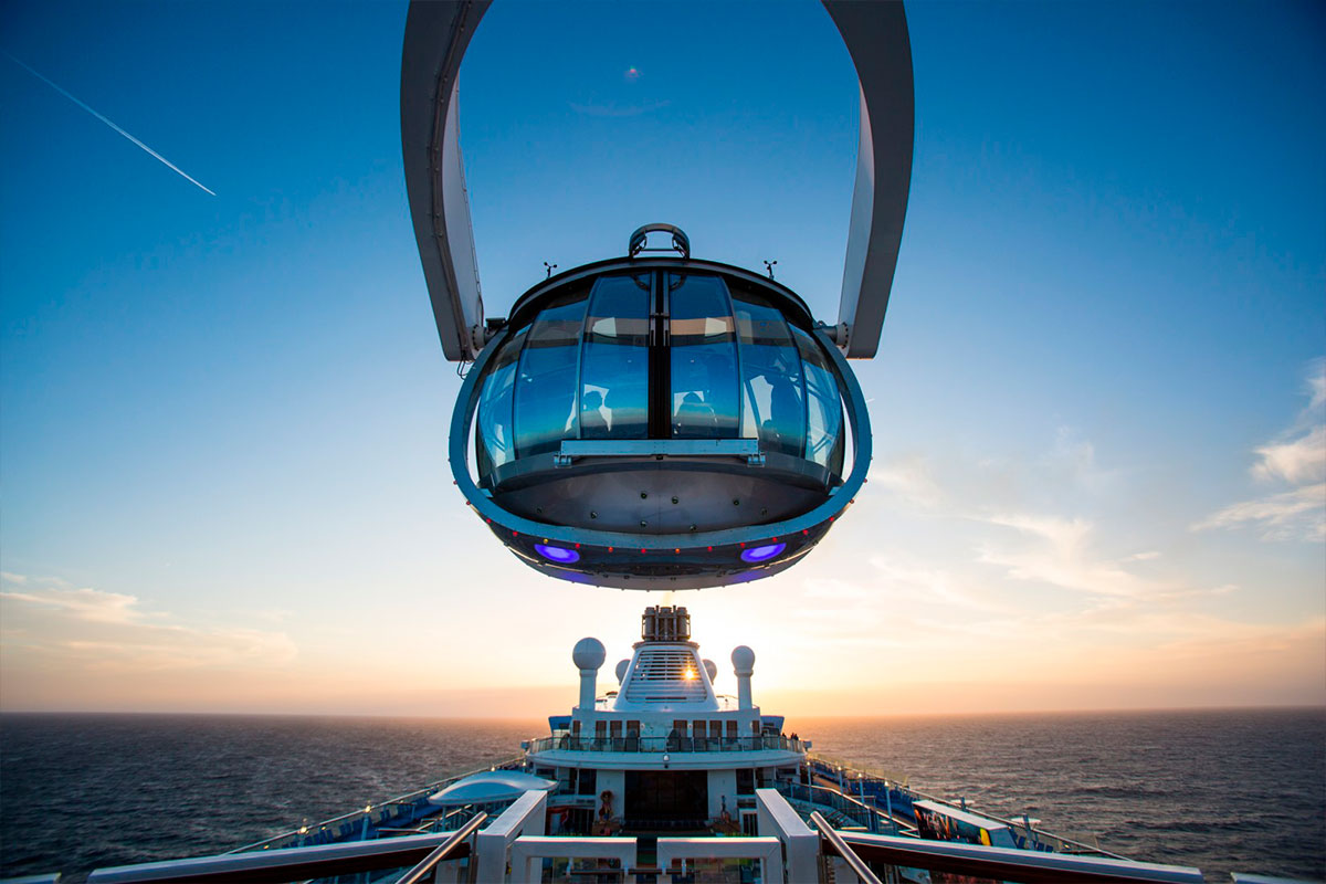 North Star at Sunset - Ovation of the Seas