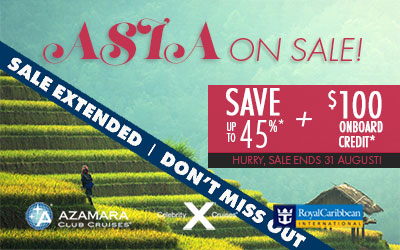 Asia On Sale!