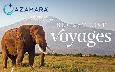 Azamara - Bucket List Journeys