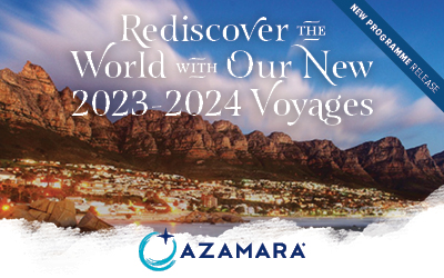 Azamara - Brand New 2023-24 Programme