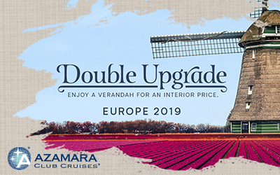 Azamara Double Upgrade Sale