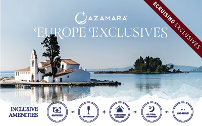 Azamara - Exclusive Packages: Europe