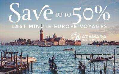 Azamara I Last Minute Europe Voyages