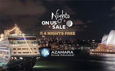 Azamara Nights On Us Sale