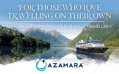 Azamara - Solo Traveller Offer