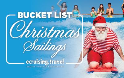 Christmas Sailings - Bucket List Journeys
