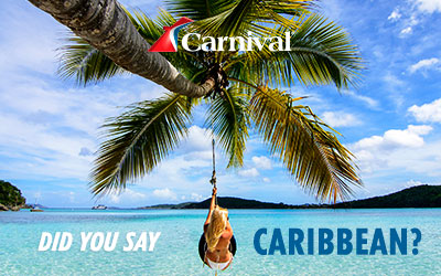 Carnival - Caribbean HOT DEALS