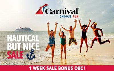 Carnival - Nautical But Nice Sale